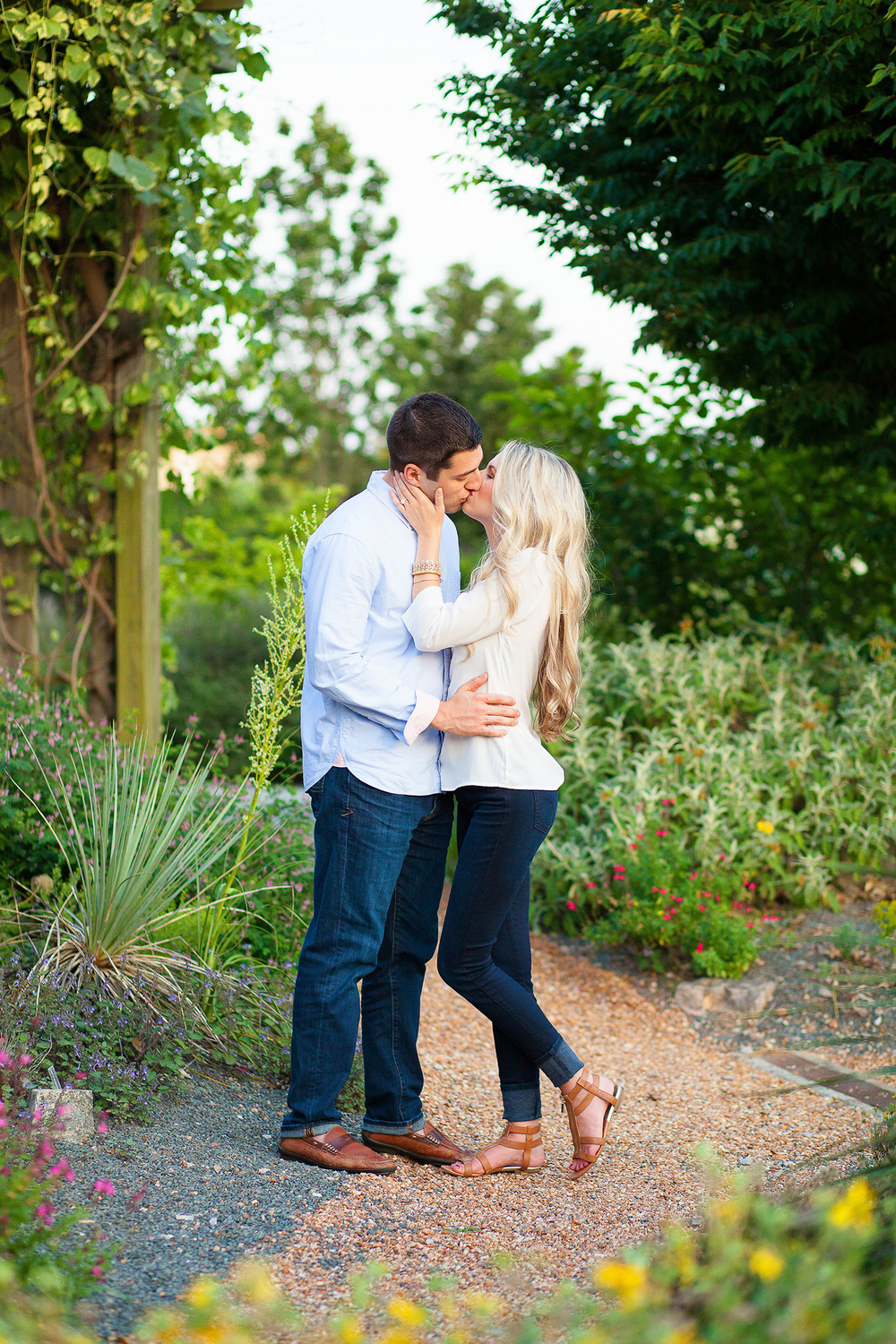 Engagement Session Raleigh Arboretum