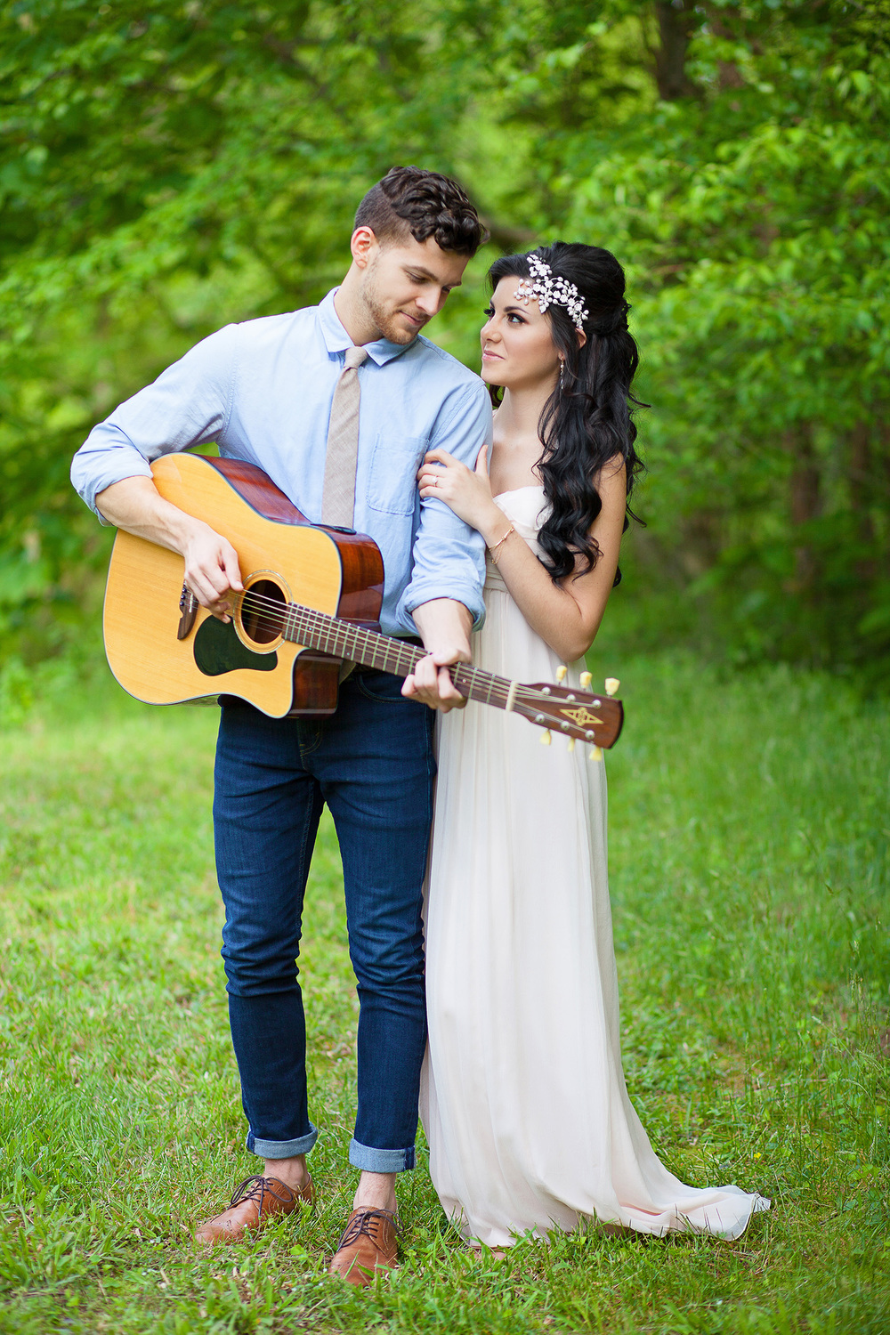 Guitar Engagement Session