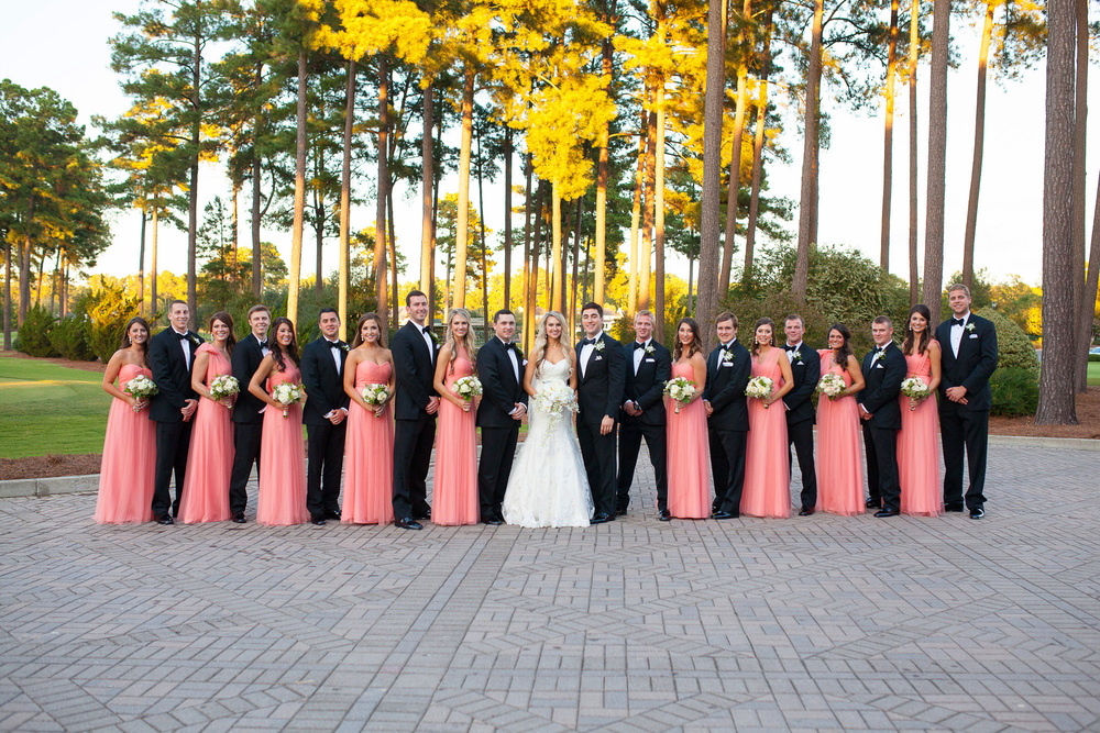 Large Bridal Party Poses