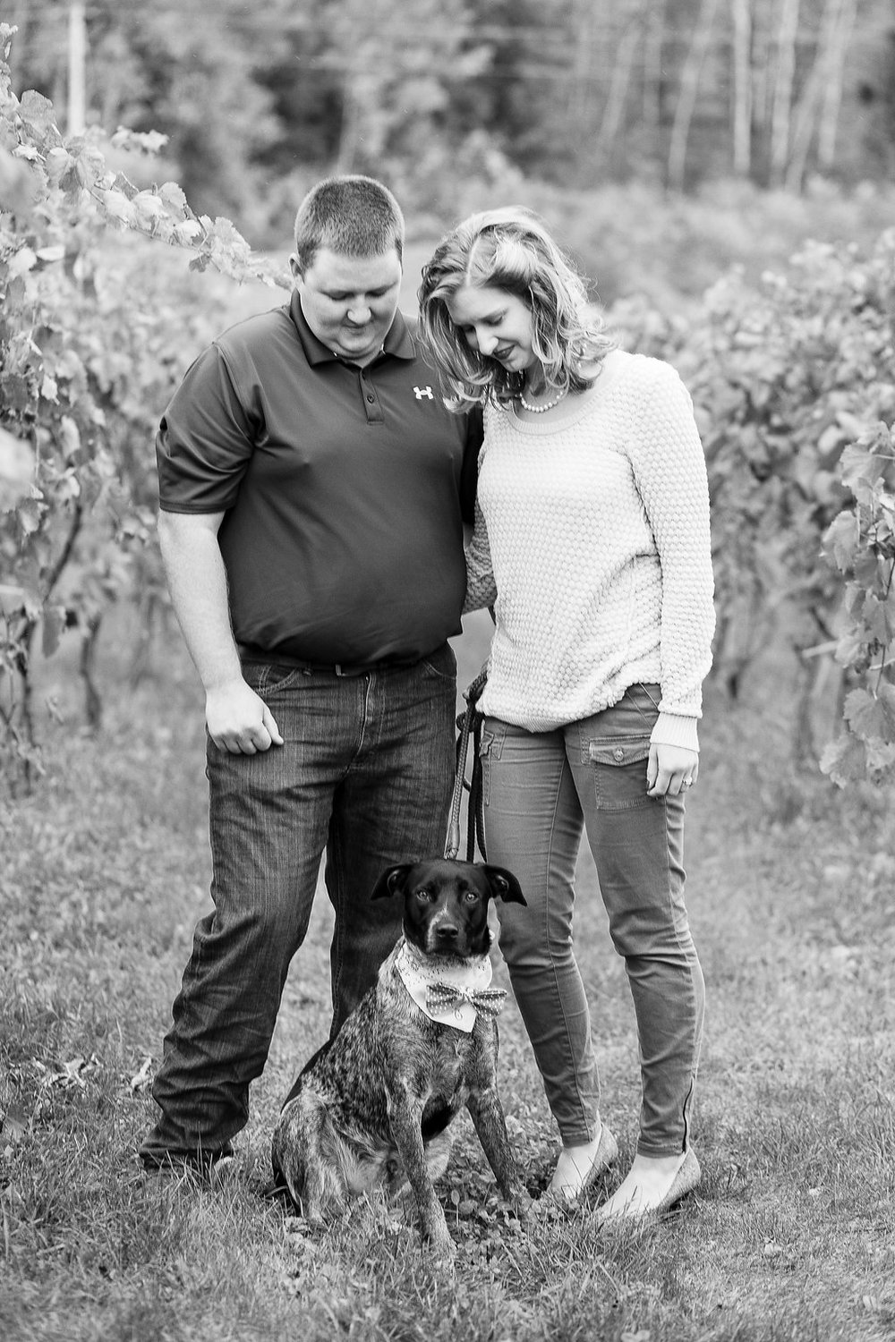 Dog Engagement Session Poses