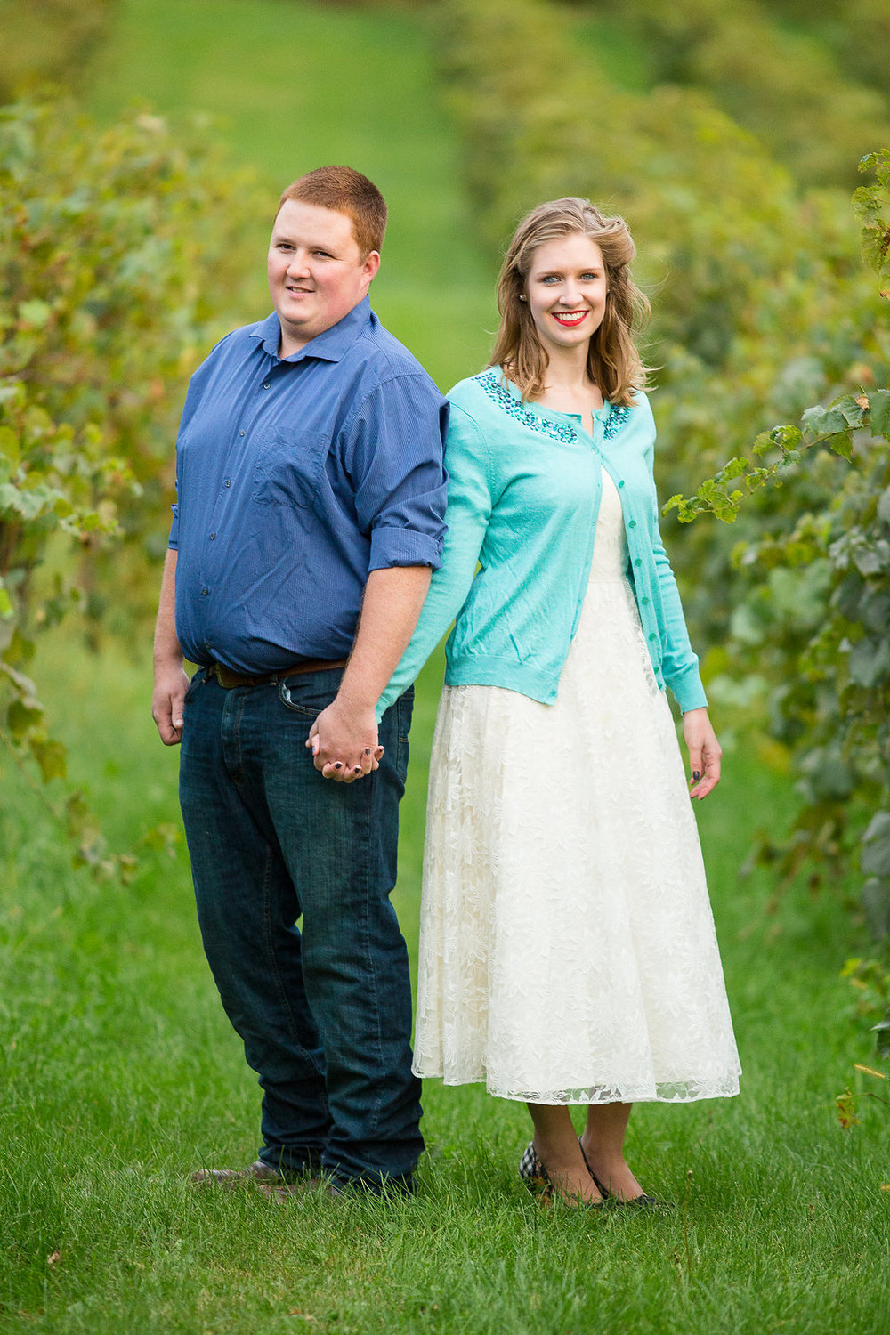 Engagement Sessions at Vineyards