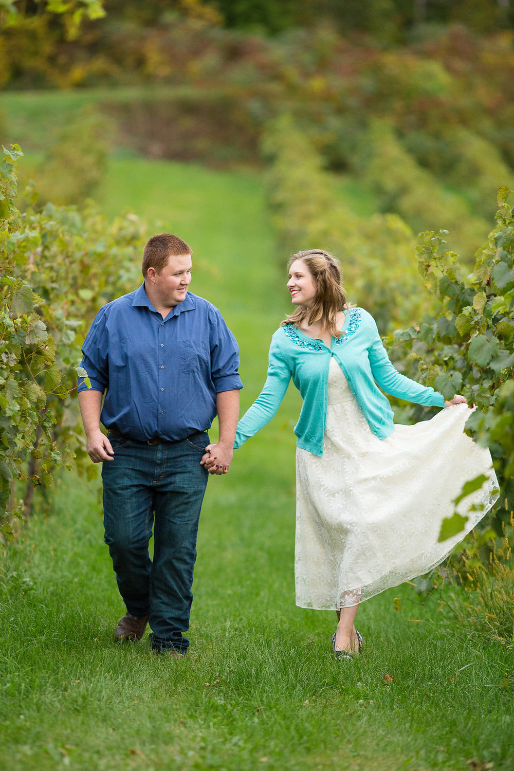 Vineyard Engagement Sessions