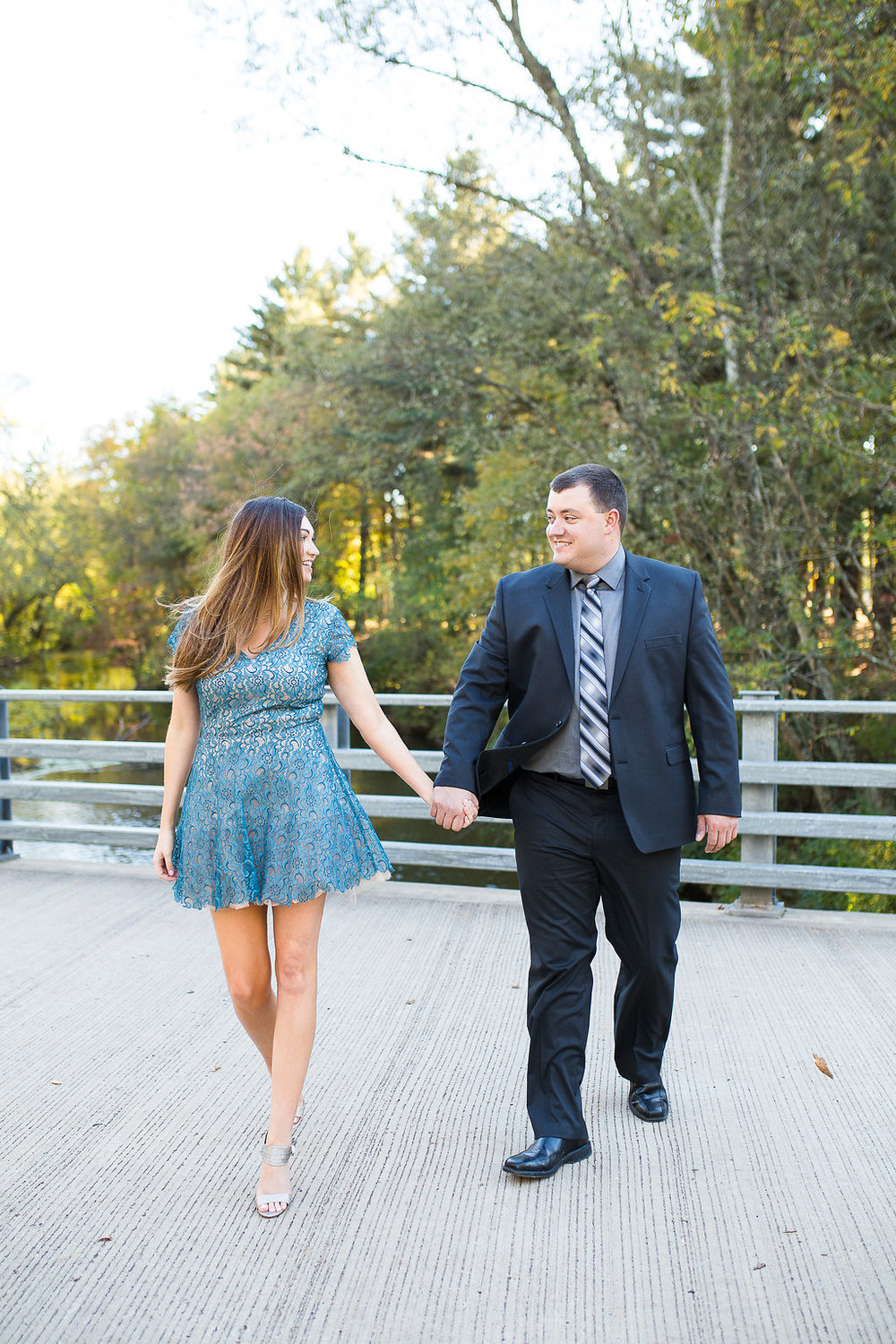 Walking Engagement Session Poses