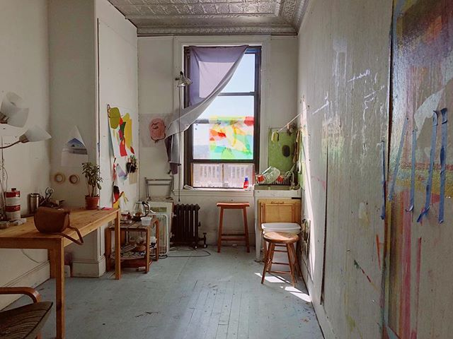 Sad to say goodbye to this studio this month but excited for the next adventure in Chicago! Hit me up if you want to trade before I go, also be looking for a pre moving art sale!