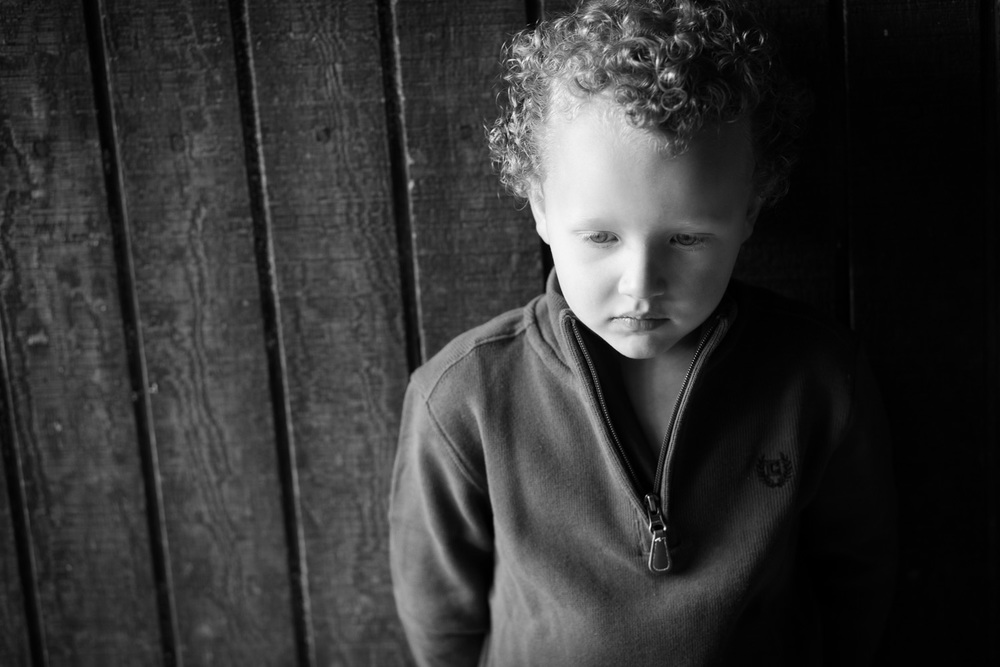 kids photography quiet moment portrait