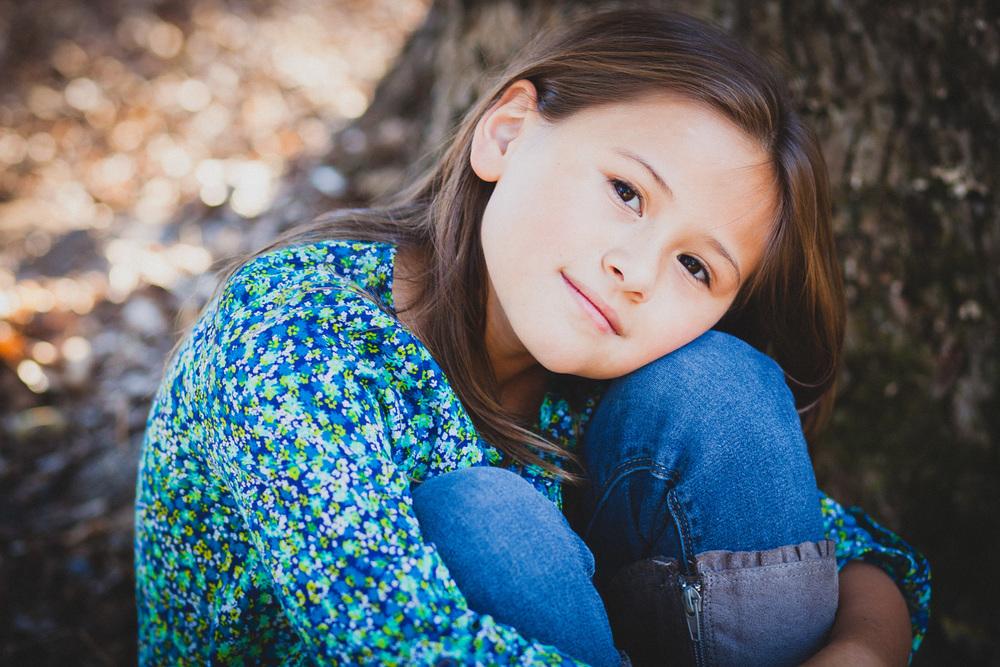 girl serene portrait covington georgia