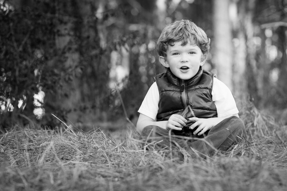 conyers photographer portrait of child in park