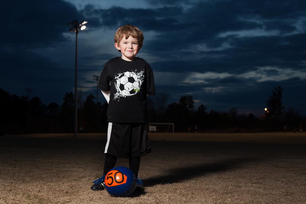 kids soccer portrait covington ymca soccer complex