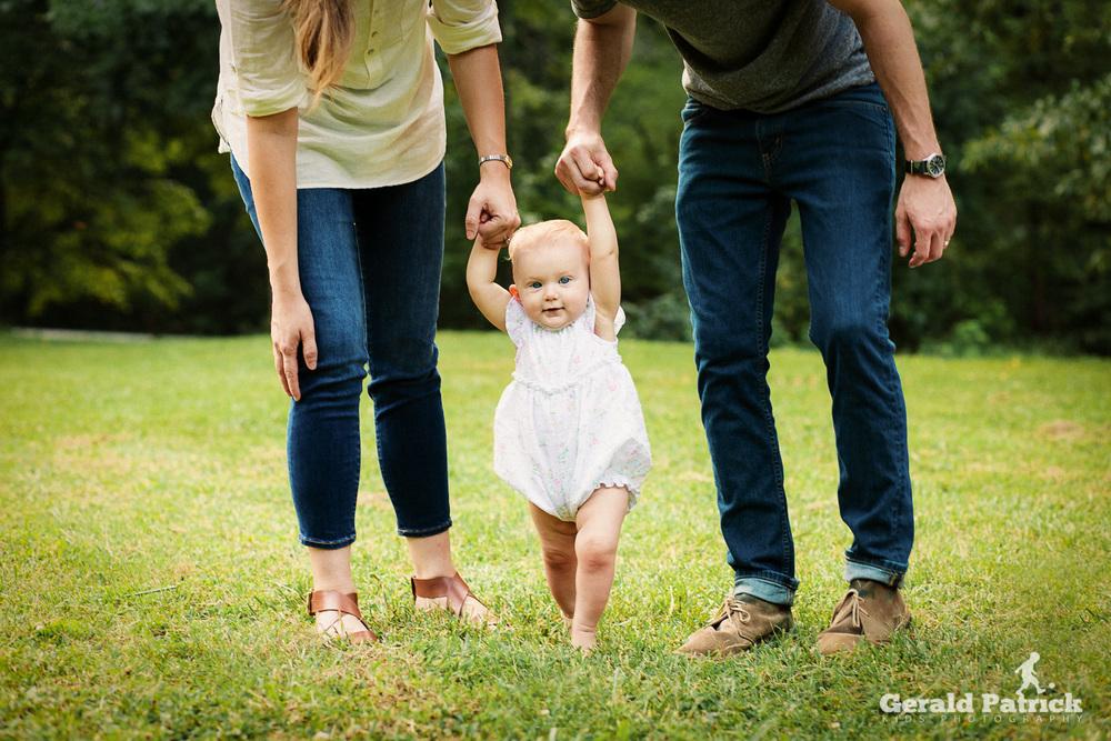 Atlanta photographer family home session