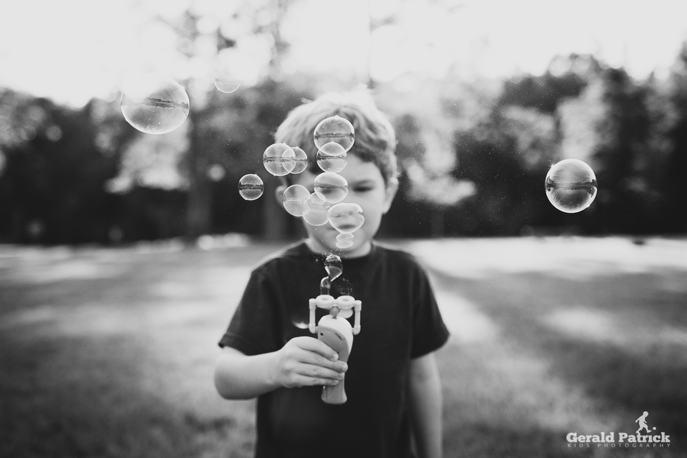 decatur family photographer bubble session