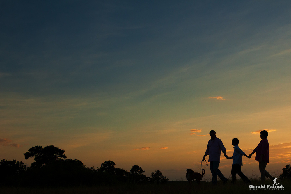 atlanta photographer family sunset portrait