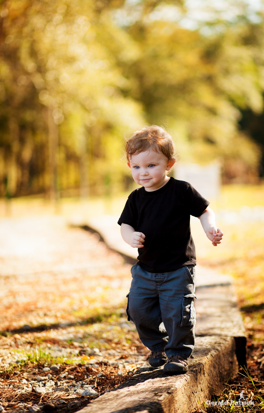 child portrait at park in Porterdale, Georgia