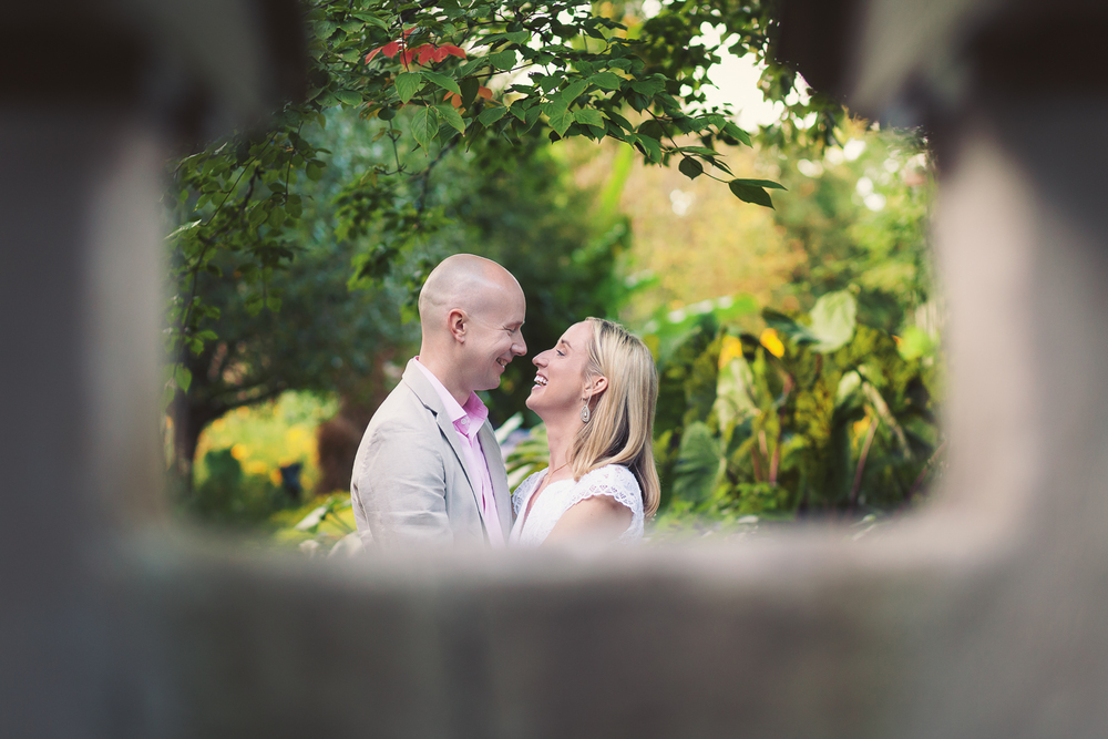 atlanta engagement photographer botanical garden