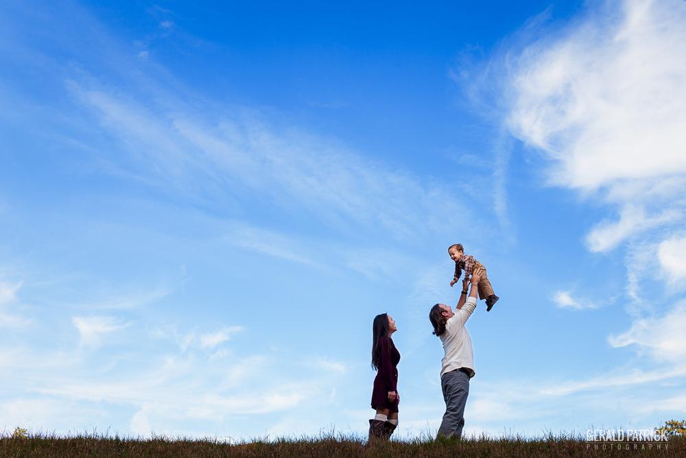 covington ga photographer family portrait big blue sky