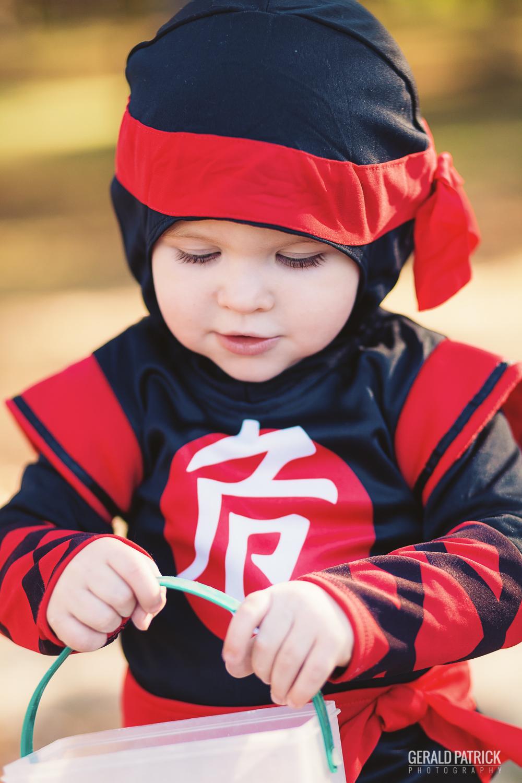 covington photographer halloween ninja