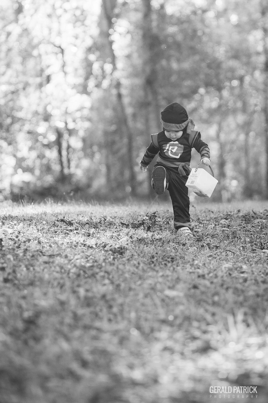 covington ga kids photographer halloween ninja kick