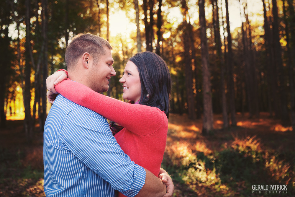 Covington GA engagement photographer outdoor session