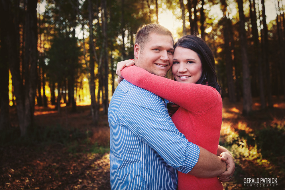 Covington GA photographer sunset engagement
