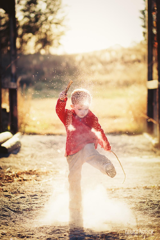 covington ga photographer kids playing