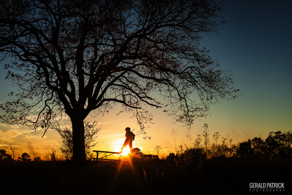 covington ga photographer beautiful sunset silhouette
