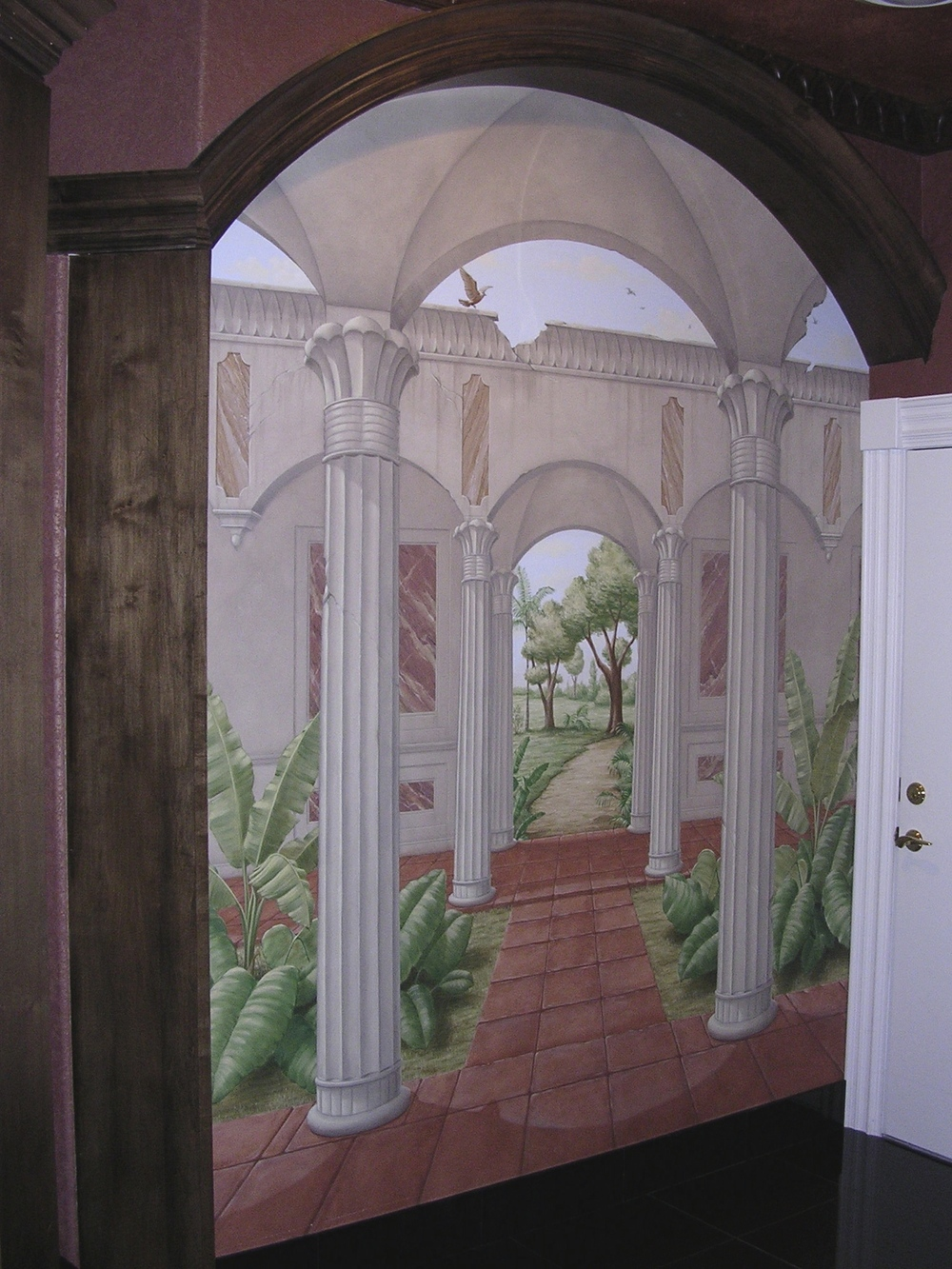Tropical Foliage Portico