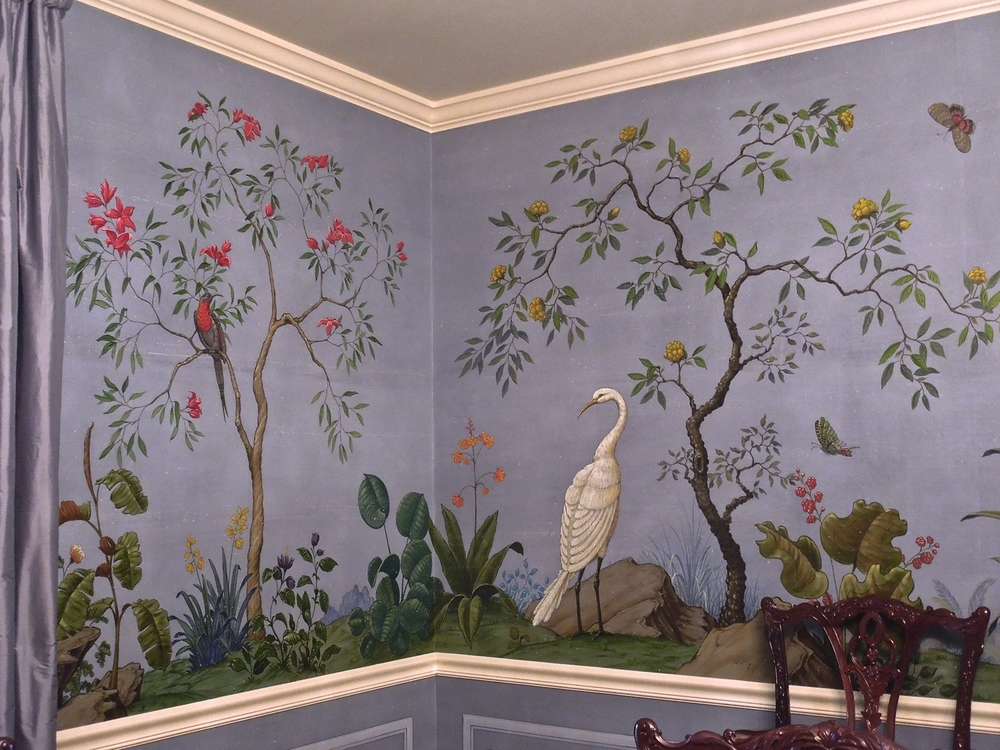 Chinoiserie in Blue