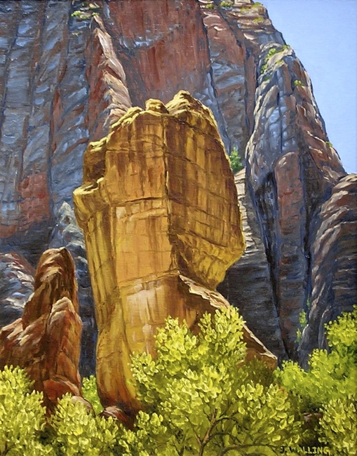 Zion, The Temple