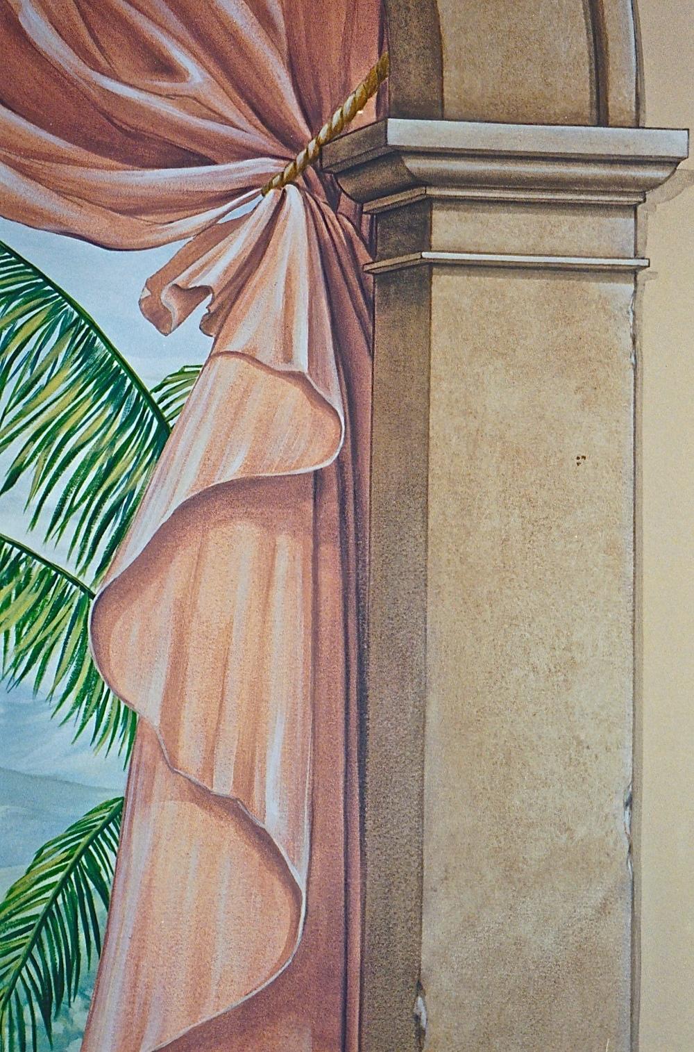 Detail, Column/Drapery