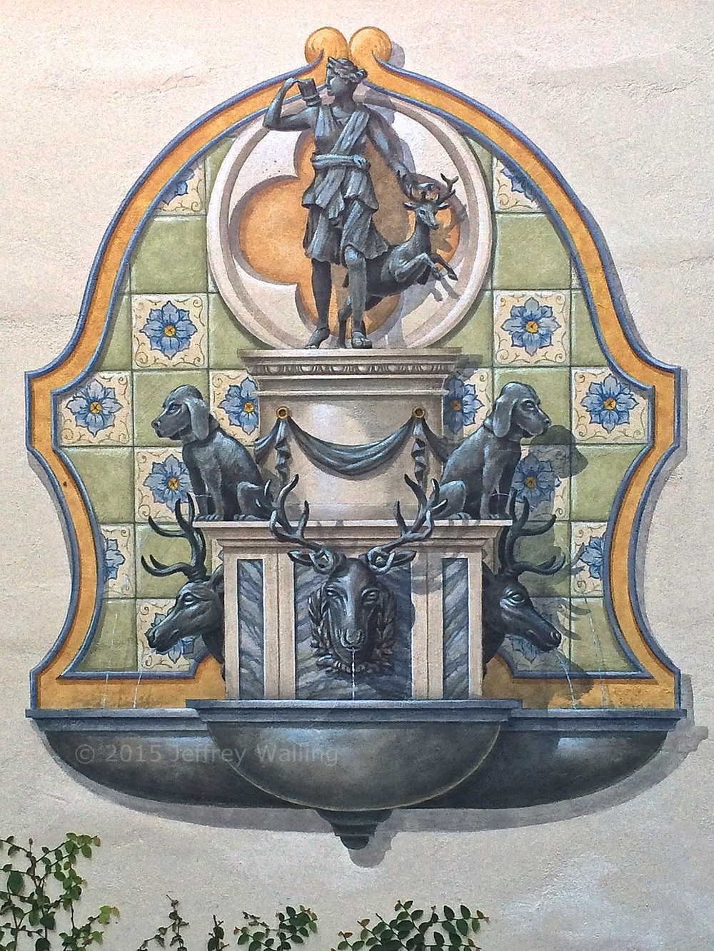 Trompe L'Oeil Fountain