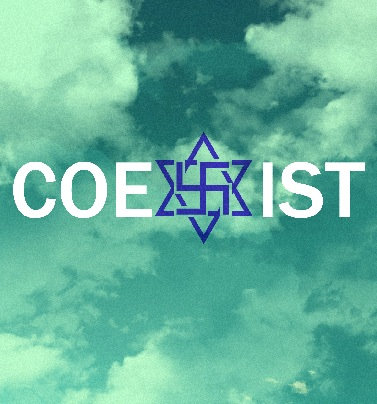 We are all one. We can all get along if we CHOOSE. Live with love, coexist together in harmony.