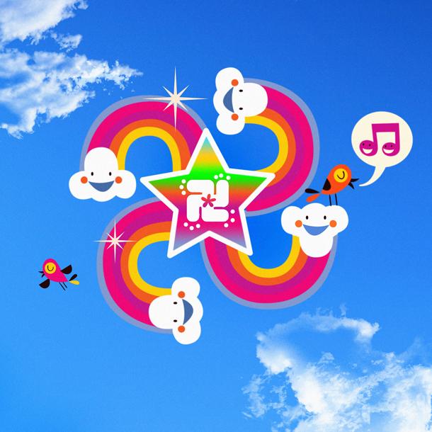 Say hello! to Happy Rainbow Swastika. This symbols means ::: LUCK LOVE LIFE LIGHT