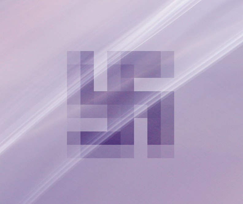 Pixel Swastika. I love how simple the lines are of this symbol. It makes a great geometric shape for eye-pleasing usage in all types of design.
