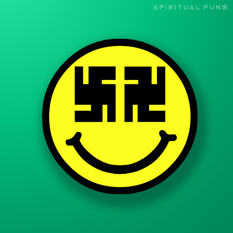 smiley face swastika learn inspire