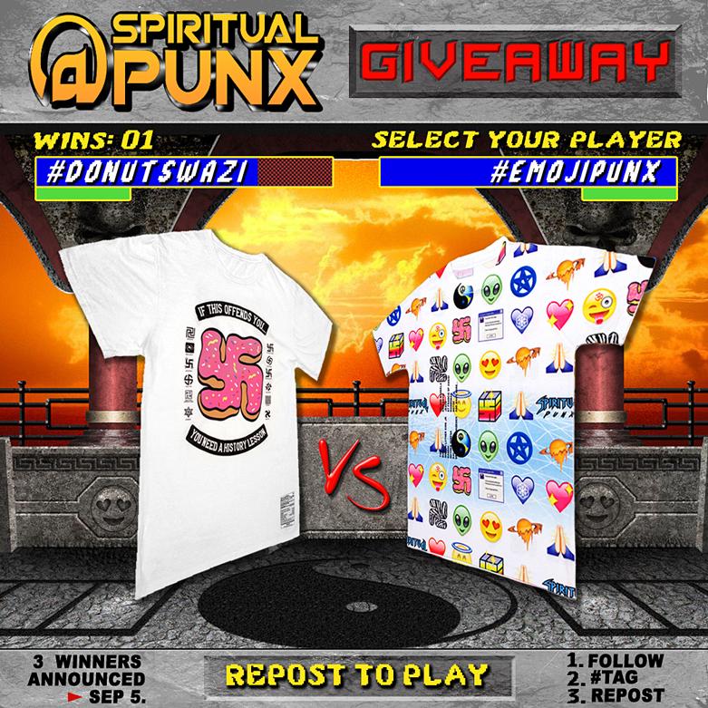 spiritual punx donutswazi emojipunx giveaway