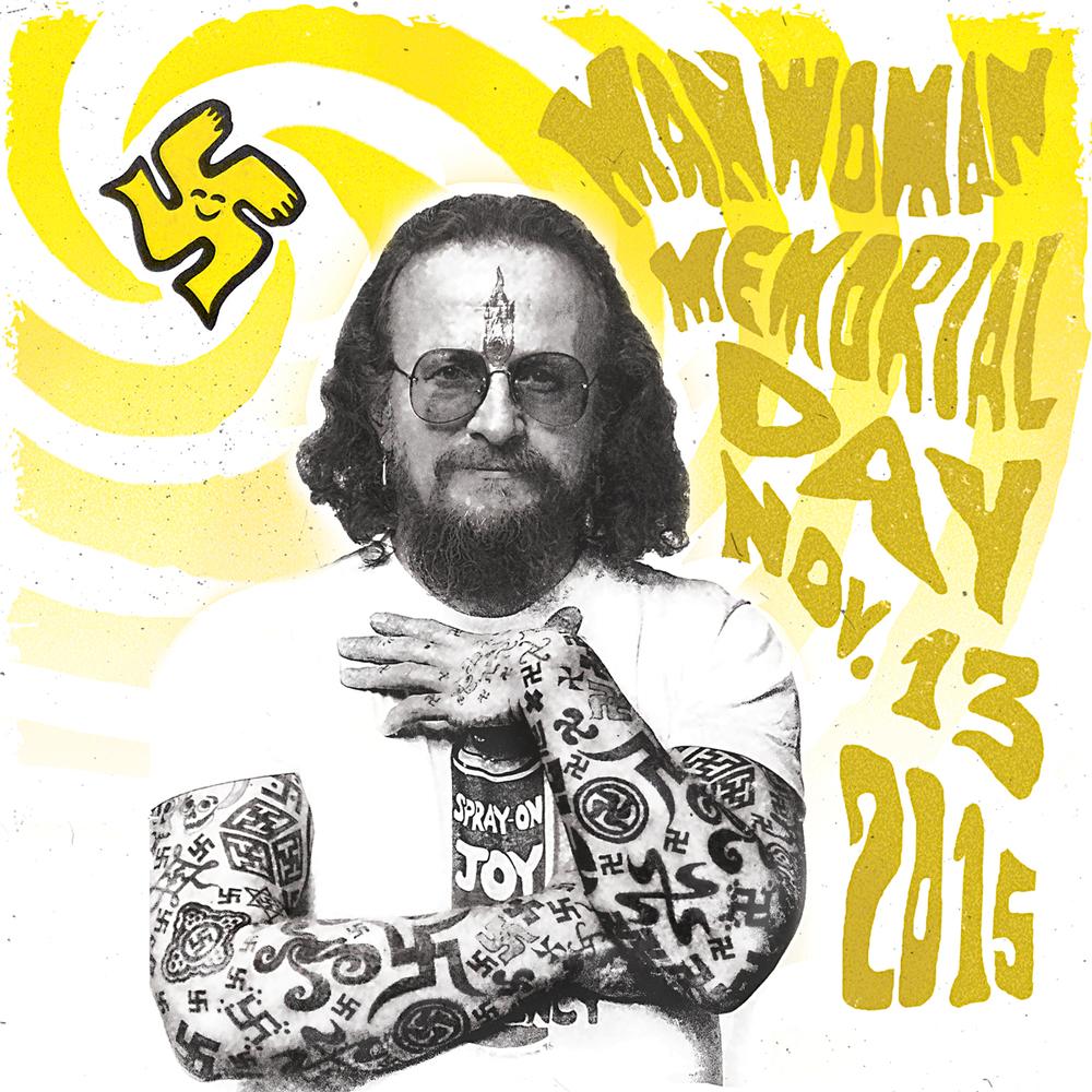 ManWoman flyer 2015 tattoo swastika sinjun
