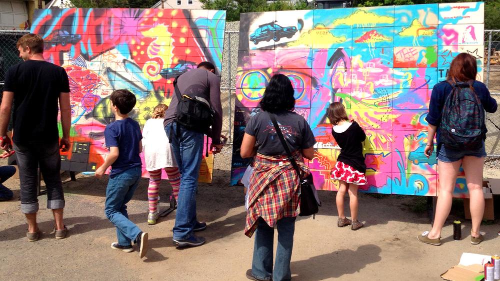 Modular Graffitti
