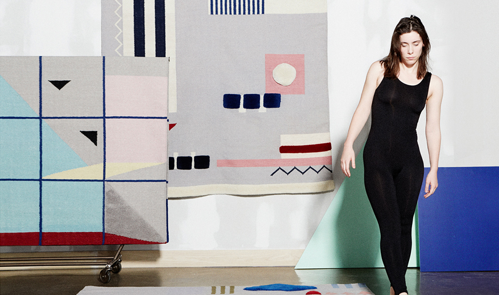 Aelfie Rugs, for Design Milk