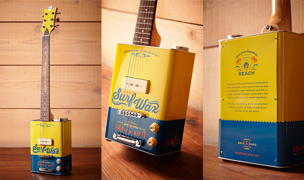 Bohemian Guitars - Boho Surf Wax. $299
