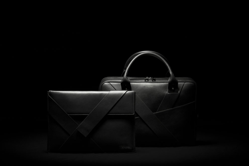DeAbreu Diagonal Folder and Business Bag