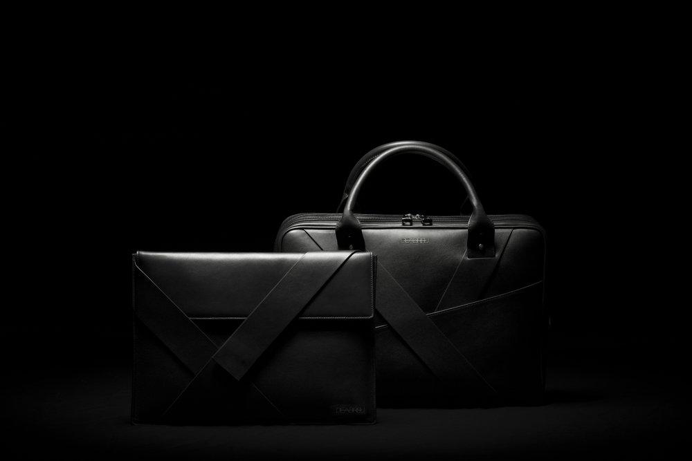 DeAbreu Diagonal Folder and Business Bag