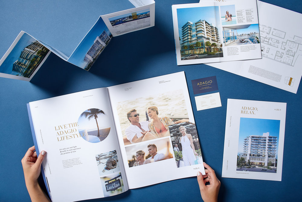 _Adagio   Real Estate Branding