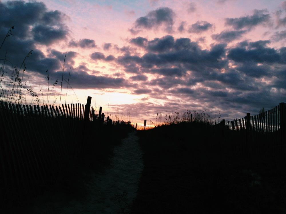 quiet Access before the sunrise