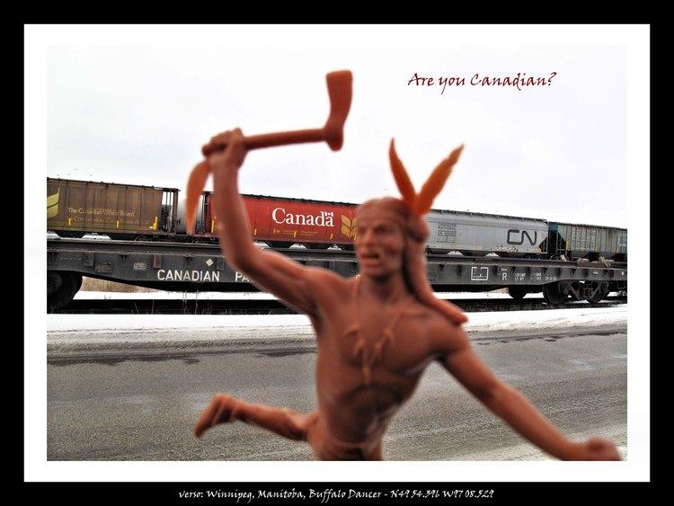 Winnipeg, Manitoba, Higgins Street, Buffalo Dancer, 2012