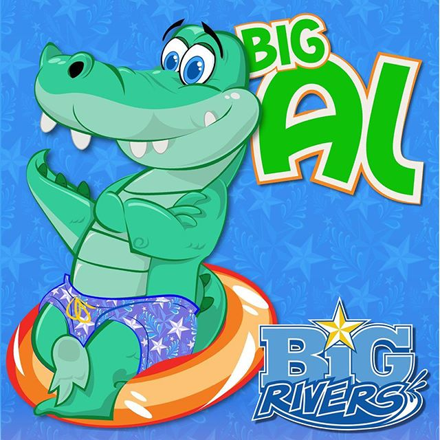 It is with great honor and privilege that I get to introduce our newest member to the Grand Texas family, Big Al! As our mascot for Big Rivers Waterpark and Gator Bayou Adventure Park you will see more of Big Al throughout the year as we move along! #BigAl #Mascot #BigRiversWaterPark #GatorBayouAdventurePark