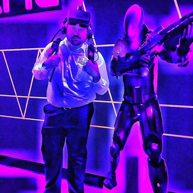 #ZeroLatency @MyMainEvent So much fun! #VR #VPlay #Singularity #OutbreakOrigins
