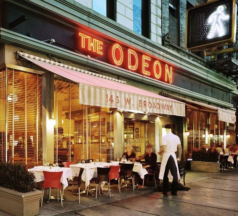 The odeon restaurant - famous for 35 years