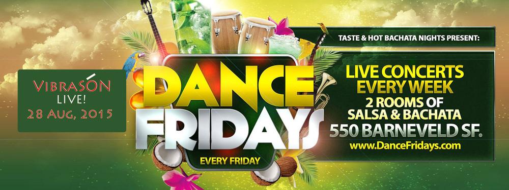 VibraSON returns to Dance Fridays on Nov 27!