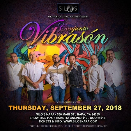 DEBUT PERFORMANCE at the beautiful Silo's in downtown Napa - Sept 27, 2018.