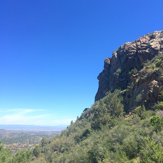 Up on Thumb Butte.