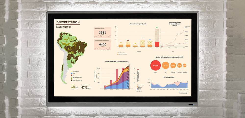 DEFORESTATION DASHBOARD